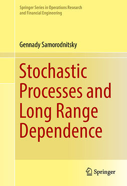 Samorodnitsky, Gennady - Stochastic Processes and Long Range Dependence, ebook