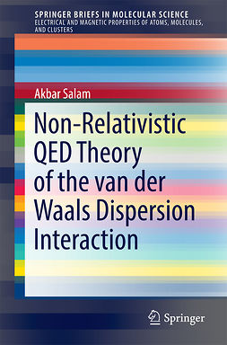 Salam, Akbar - Non-Relativistic QED Theory of the van der Waals Dispersion Interaction, ebook