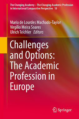 Machado-Taylor, Maria de Lourdes - Challenges and Options: The Academic Profession in Europe, e-bok