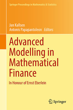 Kallsen, Jan - Advanced Modelling in Mathematical Finance, ebook
