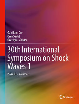 Ben-Dor, Gabi - 30th International Symposium on Shock Waves 1, ebook