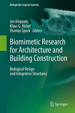 Knippers, Jan - Biomimetic Research for Architecture and Building Construction, ebook