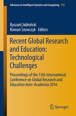 Jabłoński, Ryszard - Recent Global Research and Education: Technological Challenges, e-bok