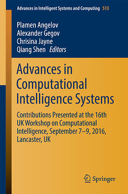 Angelov, Plamen - Advances in Computational Intelligence Systems, e-kirja