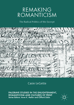 LeGette, Casie - Remaking Romanticism, e-bok
