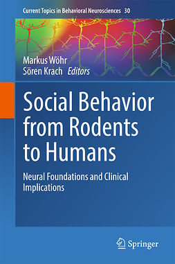 Krach, Sören - Social Behavior from Rodents to Humans, e-bok