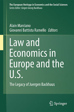 Marciano, Alain - Law and Economics in Europe and the U.S., e-kirja