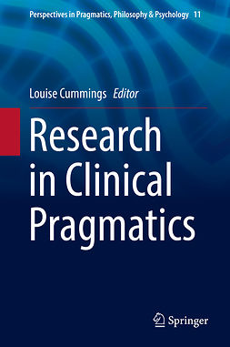 Cummings, Louise - Research in Clinical Pragmatics, ebook