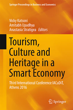 Katsoni, Vicky - Tourism, Culture and Heritage in a Smart Economy, ebook