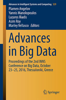 Angelov, Plamen - Advances in Big Data, ebook