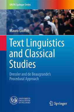 Giuffrè, Mauro - Text Linguistics and Classical Studies, ebook