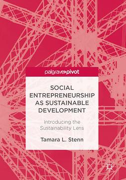 Stenn, Tamara L. - Social Entrepreneurship as Sustainable Development, ebook