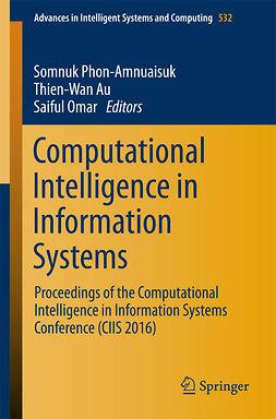 Au, Thien-Wan - Computational Intelligence in Information Systems, e-kirja