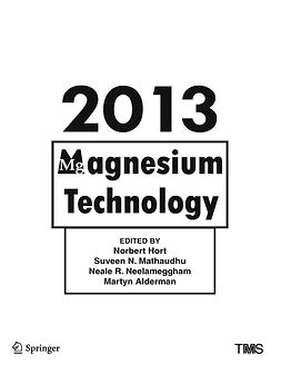 Alderman, Martyn - Magnesium Technology 2013, e-bok