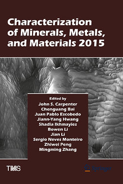 Bai, Chenguang - Characterization of Minerals, Metals, and Materials 2015, e-kirja