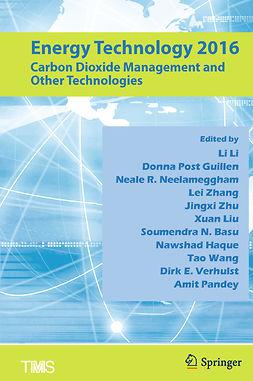 Basu, Soumendra N. - Energy Technology 2016, e-bok