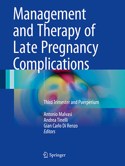 Malvasi, Antonio - Management and Therapy of Late Pregnancy Complications, e-bok