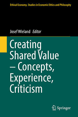Wieland, Josef - Creating Shared Value – Concepts, Experience, Criticism, ebook