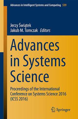 Tomczak, Jakub M. - Advances in Systems Science, e-bok