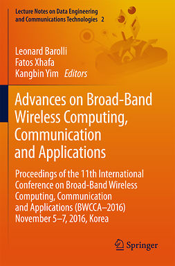 Barolli, Leonard - Advances on Broad-Band Wireless Computing, Communication and Applications, e-bok