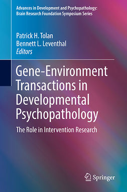 Leventhal, Bennett L. - Gene-Environment Transactions in Developmental Psychopathology, ebook
