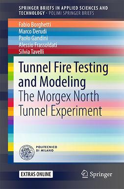 Borghetti, Fabio - Tunnel Fire Testing and Modeling, ebook
