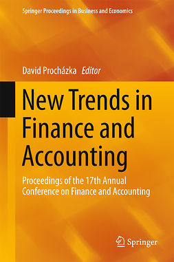 Procházka, David - New Trends in Finance and Accounting, e-bok