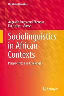 Ebongue, Augustin Emmanuel - Sociolinguistics in African Contexts, e-kirja