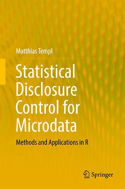 Templ, Matthias - Statistical Disclosure Control for Microdata, ebook