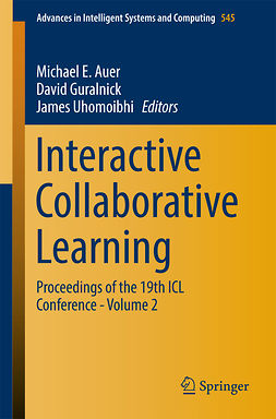 Auer, Michael E. - Interactive Collaborative Learning, e-kirja