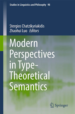 Chatzikyriakidis, Stergios - Modern Perspectives in Type-Theoretical Semantics, e-bok