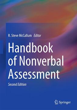 McCallum, R. Steve - Handbook of Nonverbal Assessment, e-bok