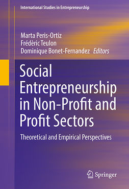 Bonet-Fernandez, Dominique - Social Entrepreneurship in Non-Profit and Profit Sectors, e-bok