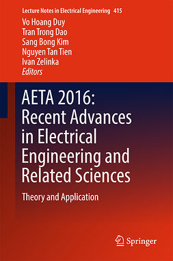 Dao, Tran Trong - AETA 2016: Recent Advances in Electrical Engineering and Related Sciences, e-bok
