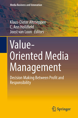 Altmeppen, Klaus-Dieter - Value-Oriented Media Management, e-kirja