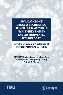 Alam, Shafiq - Applications of Process Engineering Principles in Materials Processing, Energy and Environmental Technologies, ebook