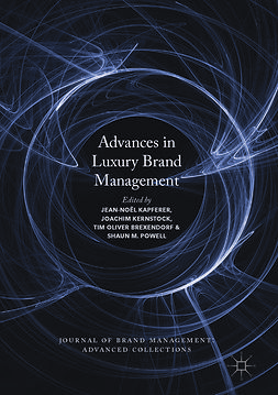 Brexendorf, Tim Oliver - Advances in Luxury Brand Management, e-bok