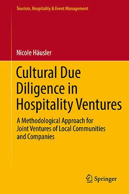 Häusler, Nicole - Cultural Due Diligence in Hospitality Ventures, e-kirja