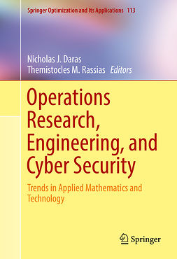 Daras, Nicholas J. - Operations Research, Engineering, and Cyber Security, e-kirja