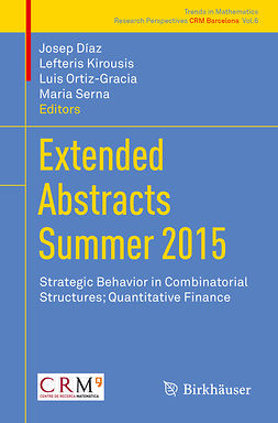 Díaz, Josep - Extended Abstracts Summer 2015, e-bok