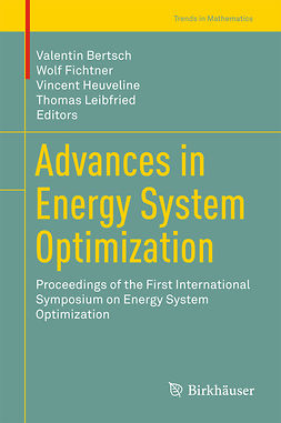 Bertsch, Valentin - Advances in Energy System Optimization, ebook