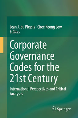Low, Chee Keong - Corporate Governance Codes for the 21st Century, ebook