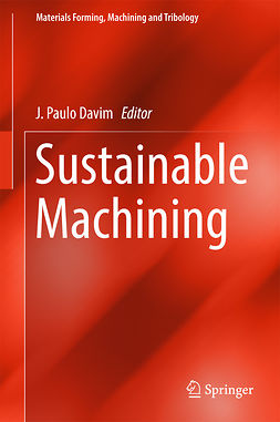 Davim, J. Paulo - Sustainable Machining, ebook