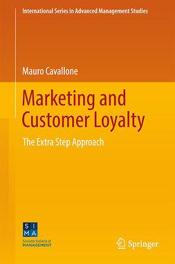 Cavallone, Mauro - Marketing and Customer Loyalty, e-kirja