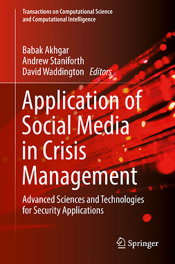 Akhgar, Babak - Application of Social Media in Crisis Management, ebook