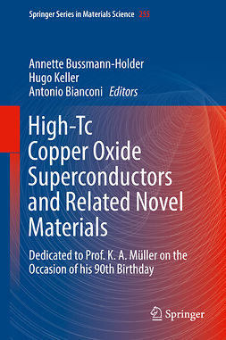 Bianconi, Antonio - High-Tc Copper Oxide Superconductors and Related Novel Materials, e-bok