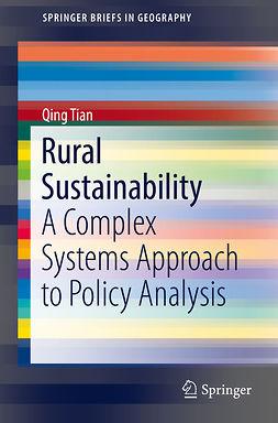 Tian, Qing - Rural Sustainability, e-kirja