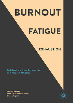 Neckel, Sighard - Burnout, Fatigue, Exhaustion, ebook