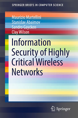 Abaimov, Stanislav - Information Security of Highly Critical Wireless Networks, e-kirja