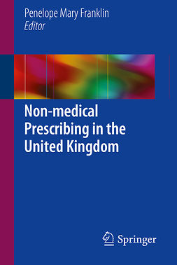 Franklin, Penelope Mary - Non-medical Prescribing in the United Kingdom, e-bok